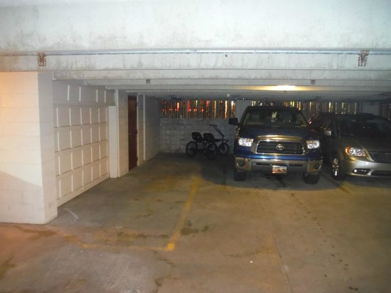The Breakers Resort Inn: was told thats a parking spot to the left.  its not!  DOOR DINGS!