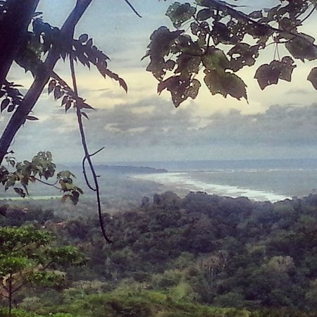 Cabinas Rancho Grande: Playa Hermosa view from our Hike