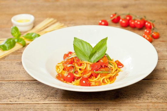 Rossopomodoro - Covent Garden: Spaghetto with cherry tomatoes
