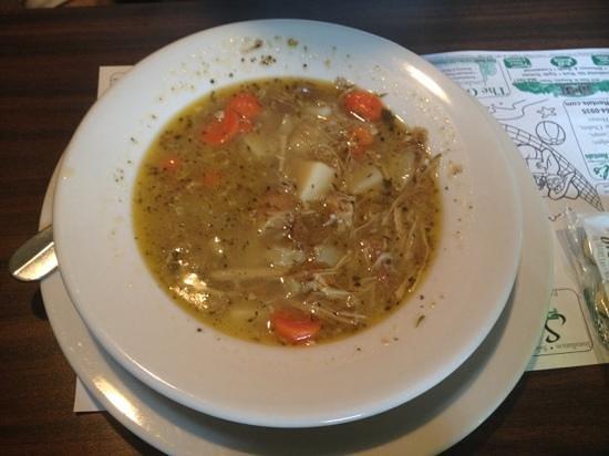 Keep's Corner Cafe & Bakery: Homemade Turkey & Veggie Soup
