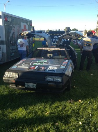 The Cut Bistro : Back to the Future car!
