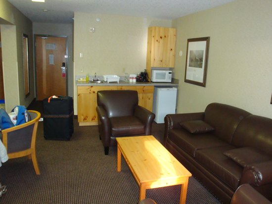Ramada Canmore: room facilities