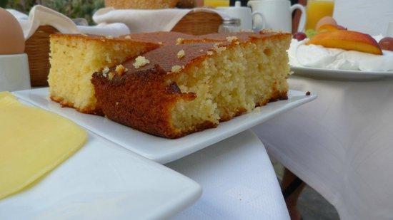 Despina's Rooms & Apartments: Leckerer Kuchen