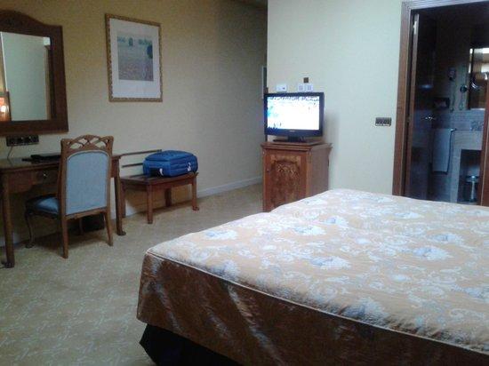 Hotel Horus Zamora: Habitación muy amplia y cómoda