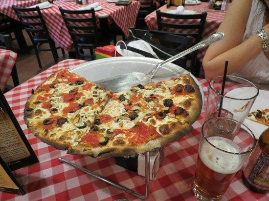 Grimaldi's Pizzeria - Fashion Show : a pizza