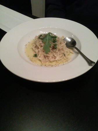 Blondie's Plate: House Made Tagliatelle - plenty to share - hold s&p
