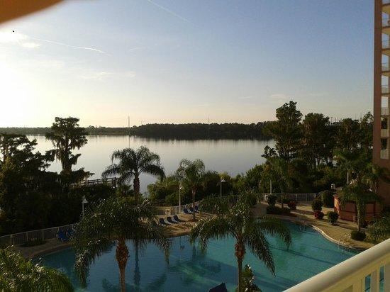Blue Heron Beach Resort: Vista del lago Bryan