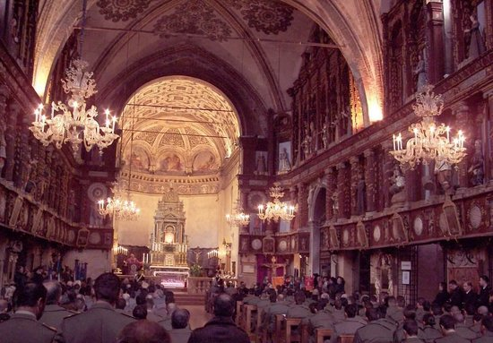 Santuario Beata Vergine Maria delle Grazie : interno del Santuario