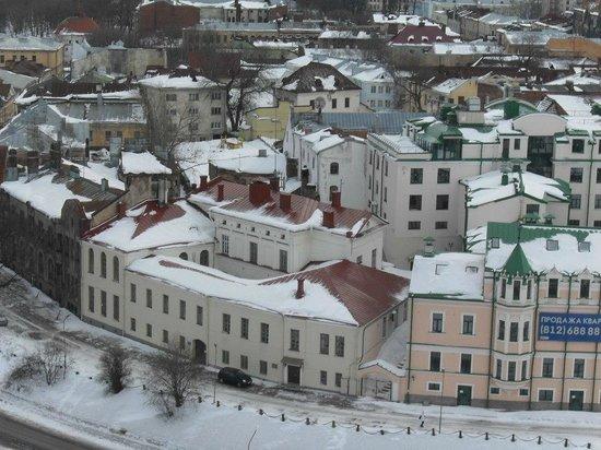 Vyborg Castle: Вид на город со смотровой площадки замка