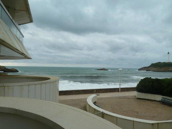 Sofitel Biarritz Le Miramar Thalassa sea & spa : balcon