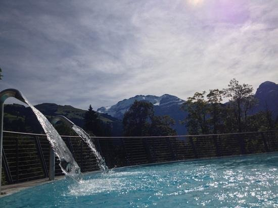 Lenkerhof gourmet spa resort: sulphur heated pool