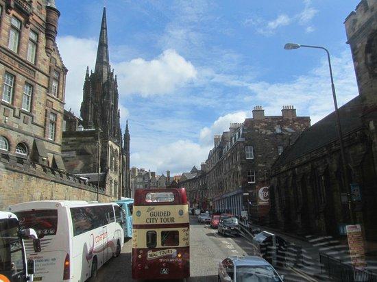 City Sightseeing Edinburgh: Ciudad de Edimburgo1