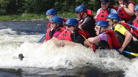 Riverfront Chalets & Rafting Newfoundland: FUN!