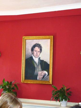 The Regency Tea Rooms : Mr. Darcy