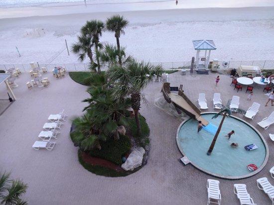 Grand Seas Resort: South side kiddie pool