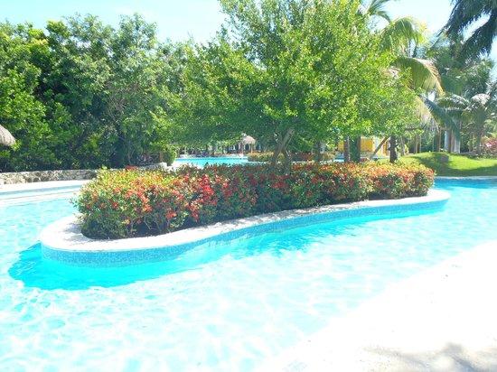 IBEROSTAR Paraiso Del Mar: Une partie des piscines