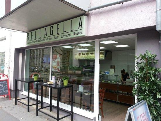Bella Gella entrance