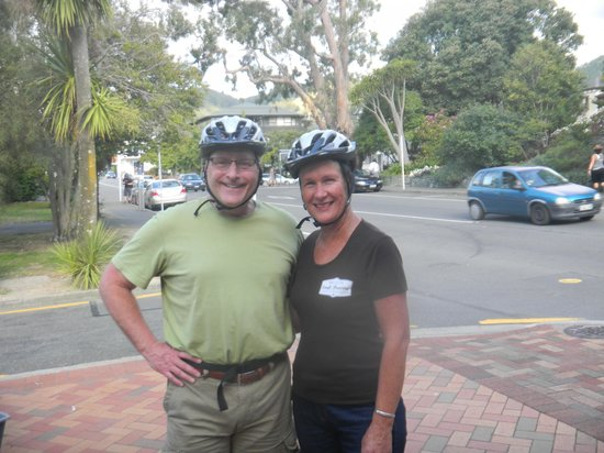 The Gentle Cycling Company : Nelson Tour with Rose