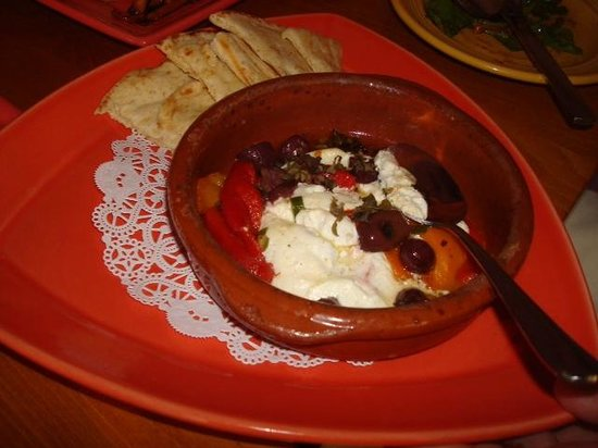 Cafe Azafran: Goat cheese