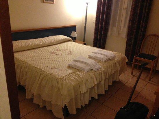 Hotel La Pergola: camera