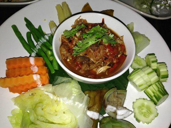 Waterside Resort Restaurant: spicy mushroop dip