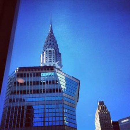 Club Quarters Hotel, Grand Central : View from the club living room
