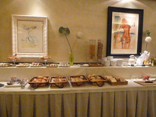 Hotel Duran : Buffet du petit déjeuner