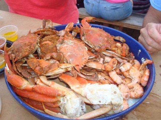 Mug & Mallet: Pile-o-crabs