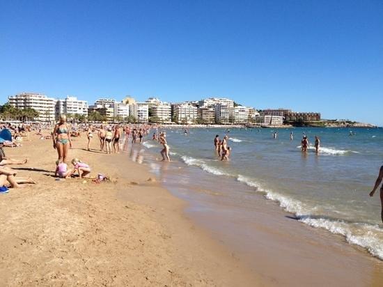 Les Dalies Apartmentos : пляж