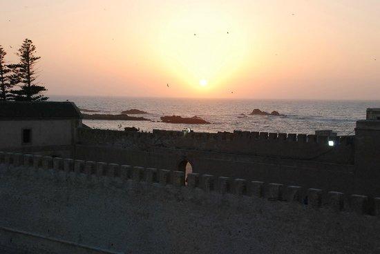 Madada Mogador: coucher de soleil Madada