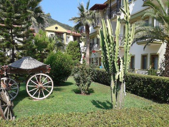 Hotel Karbel Sun: hotel gardens