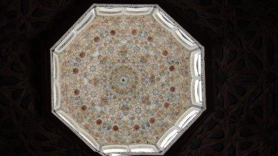 La Madraza : particolare del soffitto