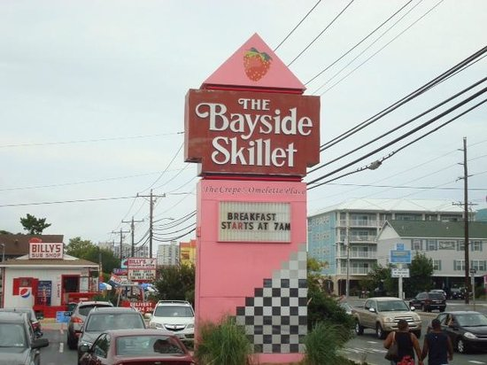 Bayside Skillet Crepe & Omelet : Crepes and Omelettes