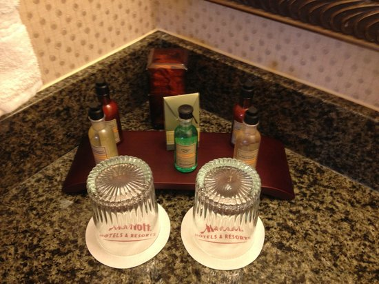 Palm Beach Gardens Marriott: Bath Products