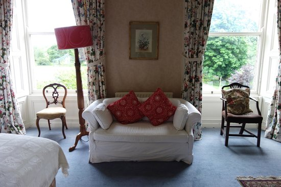 Ballyvolane House: Seating Area in Our Room
