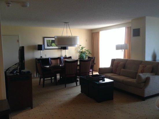 Palm Beach Gardens Marriott : Suite