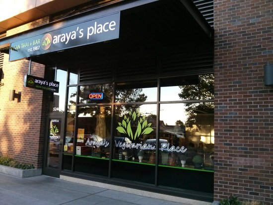 Araya S Place Exterior Was Inviting And Tasteful