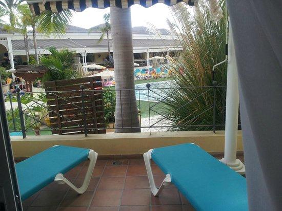 Gran Oasis Resort: Our sun terrace
