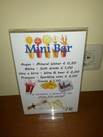 Hotel delle Province: Minibar