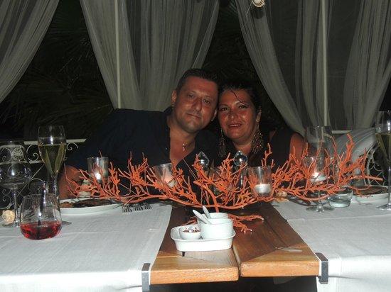 Musciara Siracusa Resort: cena a lume di candela in spiaggia