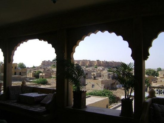 Hotel Lalgarh Fort & Palace: view of Jaisalmer Fort