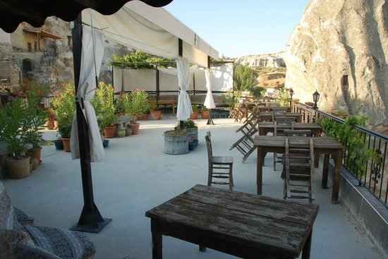 Arch Palace Hotel : Rooftop Terrace