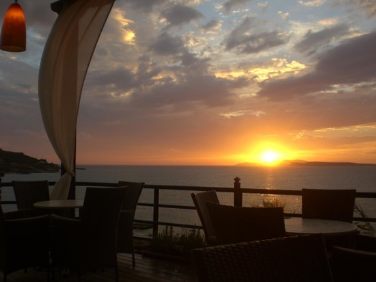Delfino Blu Boutique Hotel: amazing sunset