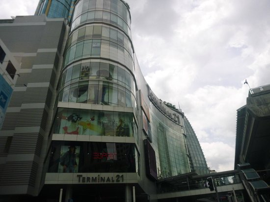 The Westin Grande Sukhumvit: Terminal 21 shopping entrance as see from hotel exterior