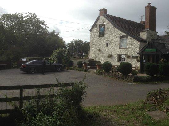 The Hunters Moon Inn: view of pub