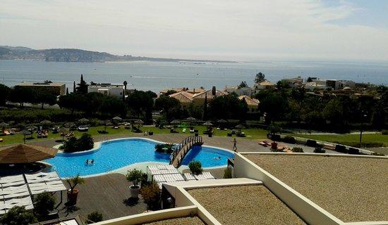 Solplay Hotel de Apartamentos : Vista para o Rio Tejo