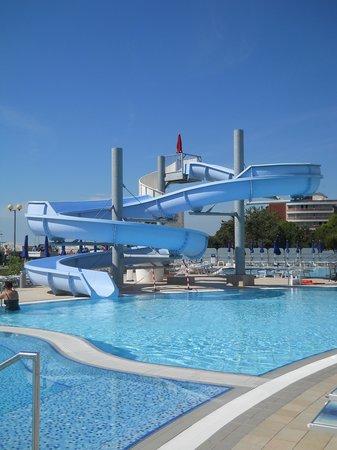 Hotel Lido Bibione Beach: Scivolo