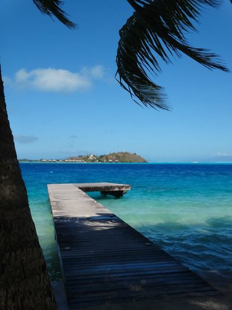 Maitai Polynesia Bora Bora: Plage de charme polynésien