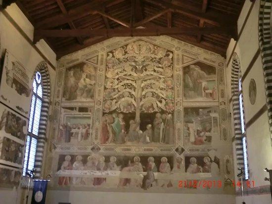 Museo dell'Opera di Santa Croce : l'albero della vita di Taddeo Gaddi