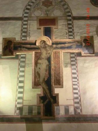 Museo dell'Opera di Santa Croce : il crocefisso di Cimabue